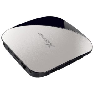X88 Pro Android TV box vista lateral